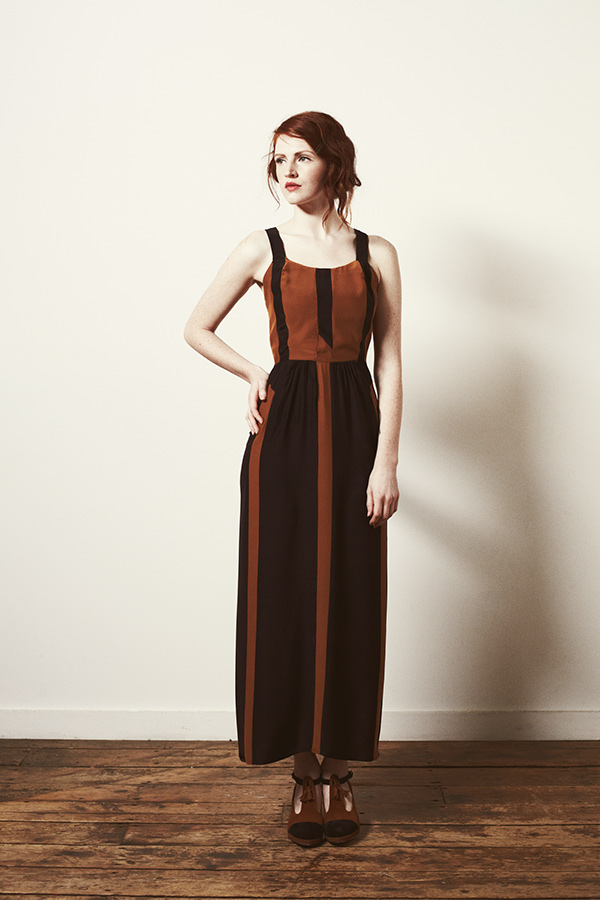Look 8 - Portrait Dress